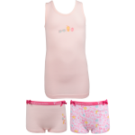 Fun2wear meisjes set 2 boxers 'Small things' roze